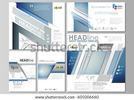 blue annual report brochure flyer design stock vector 398409832 shutterstock. Black Bedroom Furniture Sets. Home Design Ideas