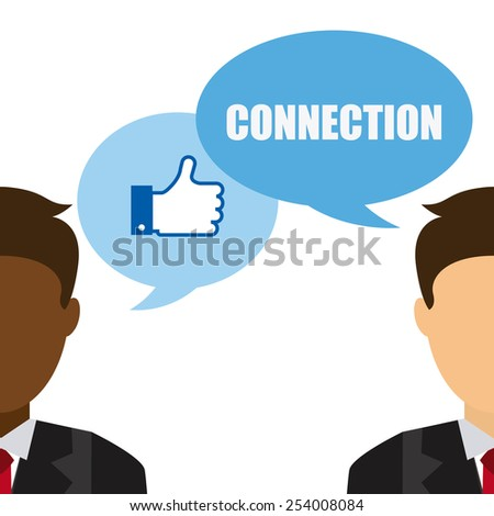 social networking design, vector illustration eps10 graphic