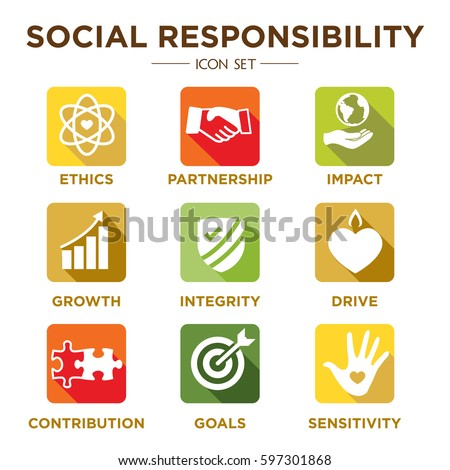 est 1 social responsibility and company Corporate social responsibility initiatives are standards and measures that businesses put in place to benefit society generally speaking, these initiatives are based on sustainability in four different categories.