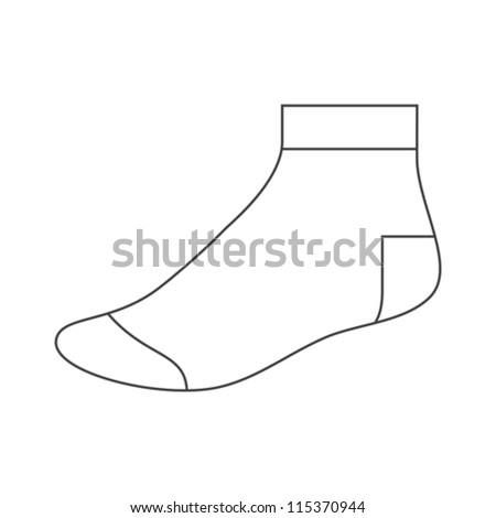 santa socks template search results calendar 2015
