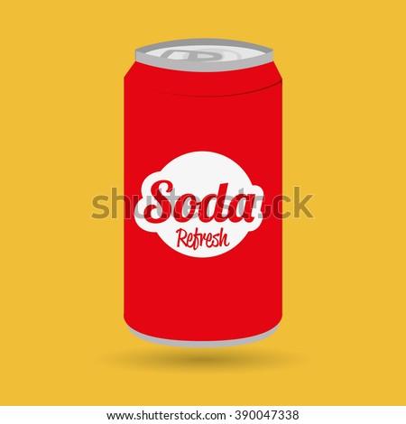 soda can design  - stock vector