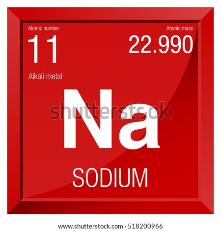 Sodium symbol element number 11 periodic stock vector royalty free sodium symbol element number 11 of the periodic table of the elements chemistry urtaz Image collections