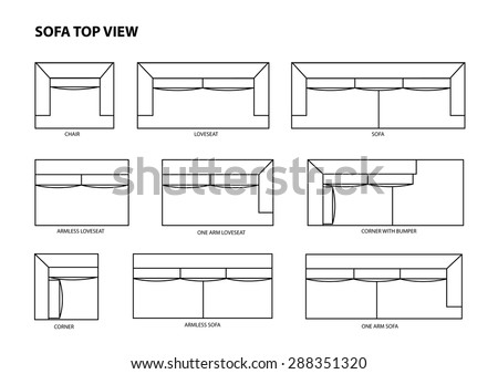 Sofa Top View Stock Photos Royalty Free Images amp Vectors