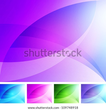 Soft Abstract Background - stock vector