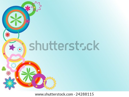 Soft background - stock vector