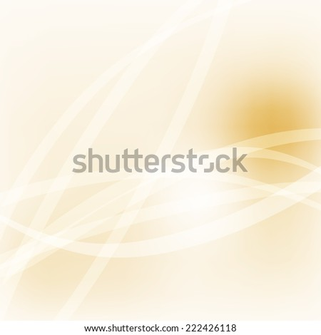 Soft Light Pastel Lines Yellow Gold Sky Background Illustration - stock vector