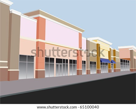 Strip Mall Stock Photos Royalty Free Images Amp Vectors