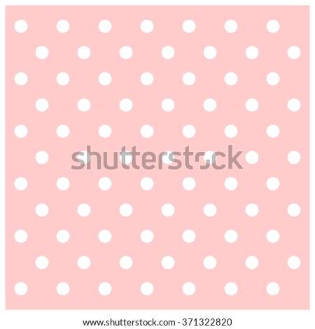 Soft Pink Vintage Dot Background