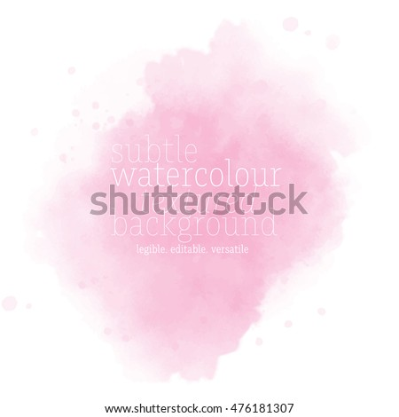 soft pink watercolor background