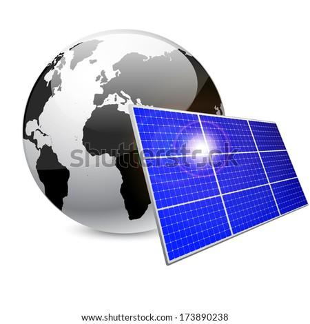 Solar Energy - stock vector