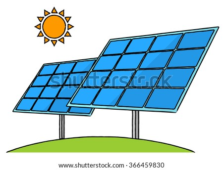 Solar panel clipart cliparts galleries for How to make a simple solar panel for kids