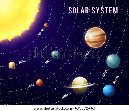 outer space planets solar system-#42