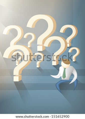 solution - stock vector
