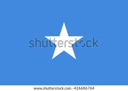 Somalia flag. Official Somalia flag.  National Somalia flag. Somalia flag vector. Somalia flag correct. Somalia flag drawing. Somalia flag Image. Somalia flag JPG. Somalia flag JPEG. Somalia flag EPS. - stock vector