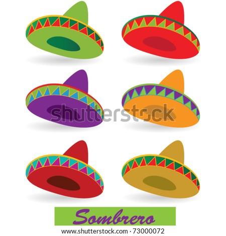 Sombrero - stock vector