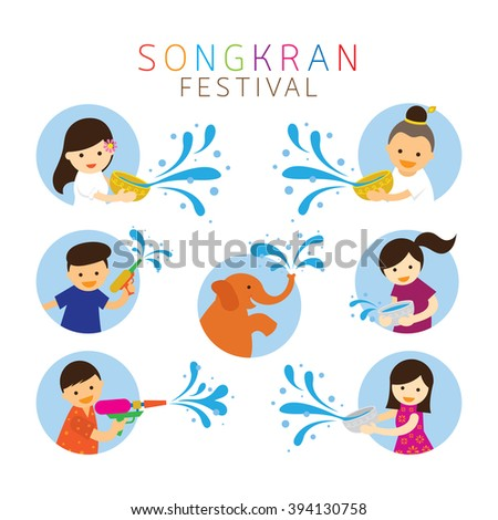 new year s day in thailand and Songkran day or thailand new year is one of the biggest events in thailand each year seeing in the thai new year means a constant festive feel, with parades, music, shows, people out on the streets and more happening all of the time.