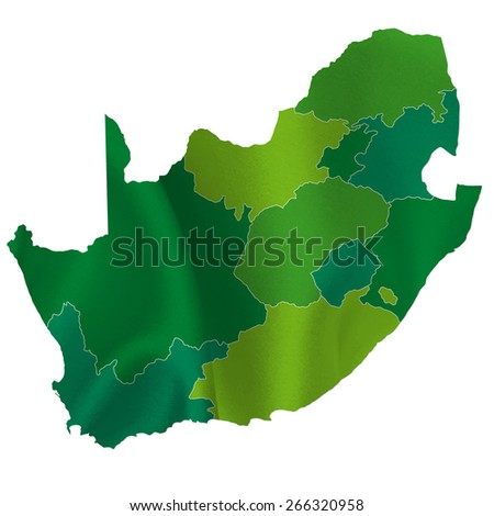 South Africa map country