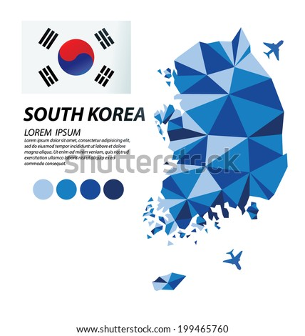 South Korea geometric concept design
