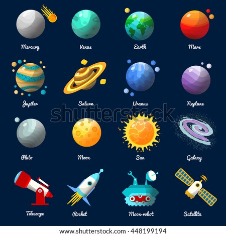 science planets and name - photo #18