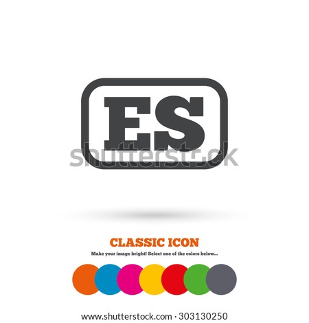 Spanish Icon Stock Images Royalty Free Images Amp Vectors