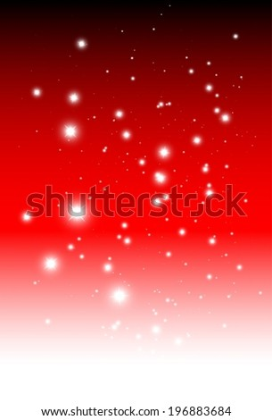 Sparking background vector background template - Vector red glittering background illustration