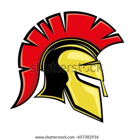 Spartan helmet logo awesome graphic library for Spartan mask template