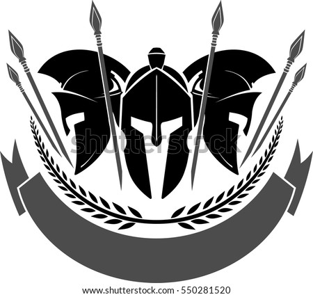 Spartan Helmet Drawing Front View