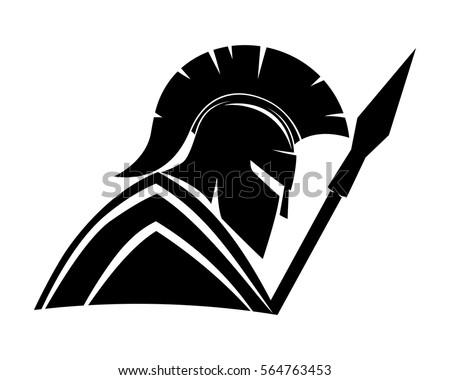 spartan stock images  royalty free images   vectors michigan state spartan head logo montour spartan head logo