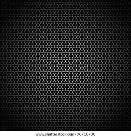 Speaker grille. Vector. - stock vector