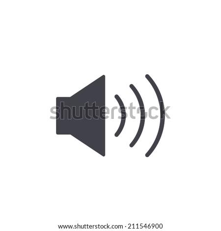 Speaker icon , vector illustration - stock vector
