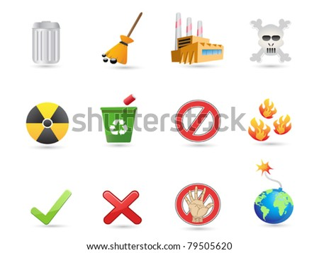 special icon for eco design