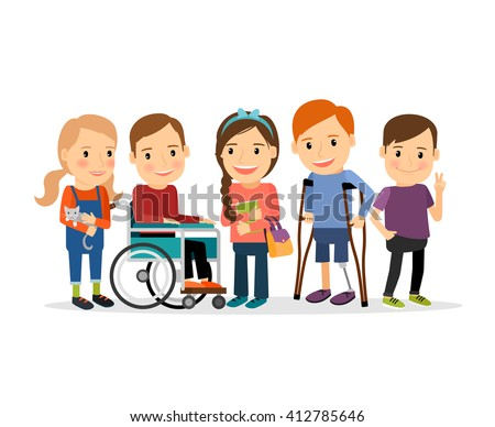 multicultural students with handicap clip art 1 clip Gingerbread Clip Art Gingerbread Men Clip Art