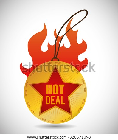 Special Offer concept and sale icons design, vector illustration 10 eps graphic. - stock vector