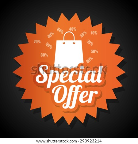 Special offer design, vector illustration eps 10.