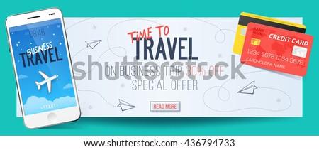 Business Travel Banner