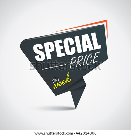 Special price bubble