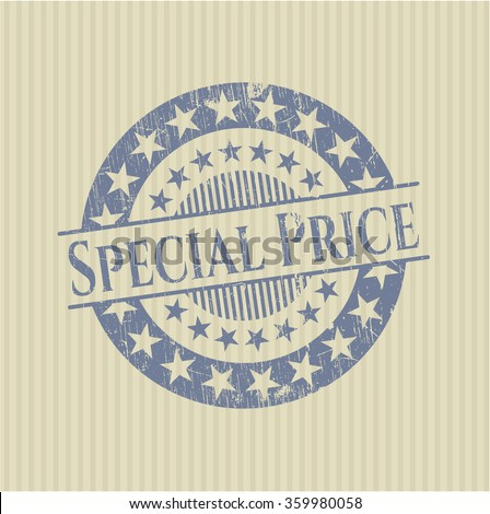Special Price grunge seal - stock vector