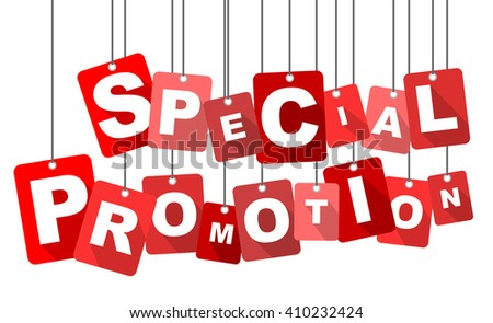 special promotion, red vector special promotion, red tag special promotion, flat vector special promotion, element special promotion, sign special promotion, design special promotion, promotion eps10 - stock vector