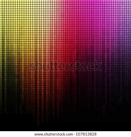 Spectrum vector background - stock vector