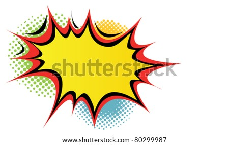 Speech bubble. Vector - stock vector