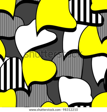 speech bubbles undefined shape seamless pattern - stock vector