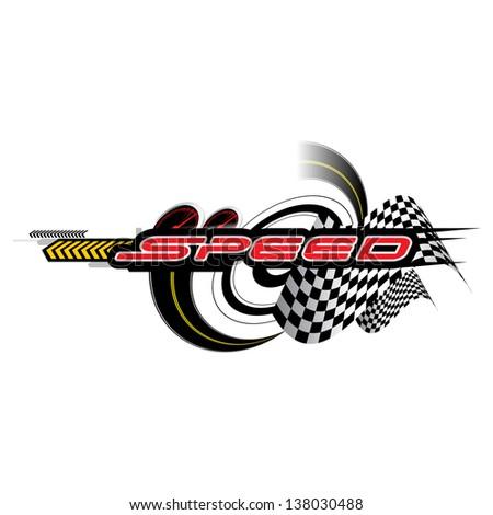 Speed Concept vector - stock vector