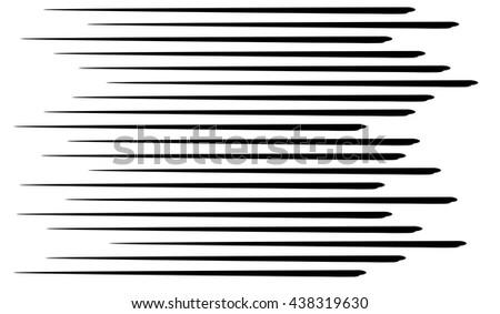 Speed lines black.Seamless Lines.Superhero.Ray - stock vector