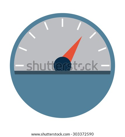 Speedometer Vector Illustration  - stock vector