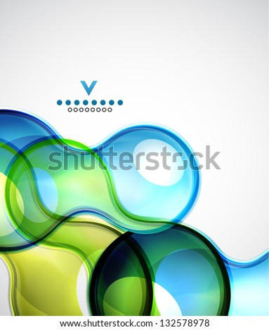 Sphere abstract modern design template - stock vector