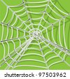 spider net vector background - stock vector