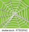 spider net vector background - stock vector