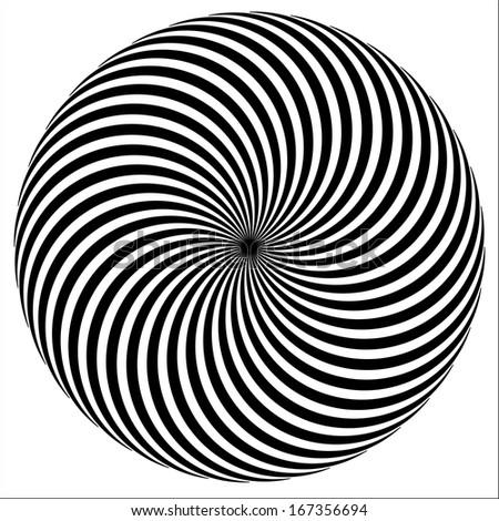 spiral background. Vector illustration.   - stock vector