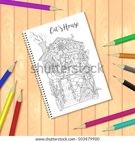 Bounds stock photos royalty free images vectors Coloring book mockup