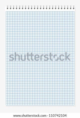 Spiral Notebook - stock vector
